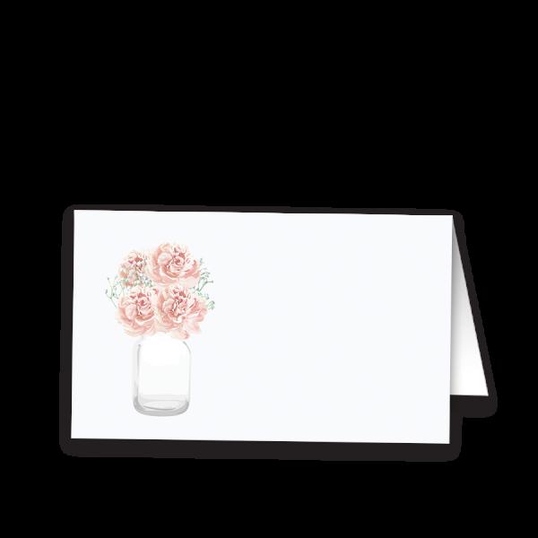 Rustic Mason Jar Wedding Escort Seating Cards