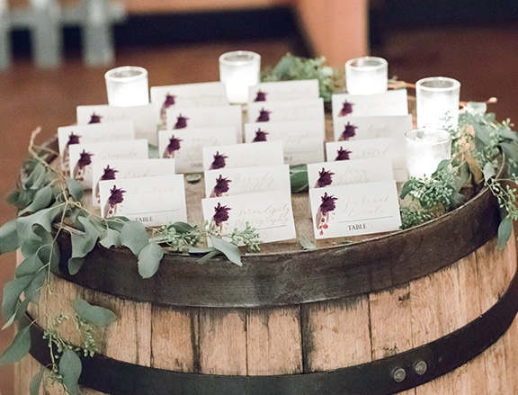 Marsala Burgundy Wedding Inspiration Styled Shoot