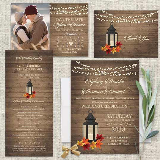Story 2017 Wedding Trend Predictions: 2017 Wedding Invitations Trends Metal Lanterns As Decor