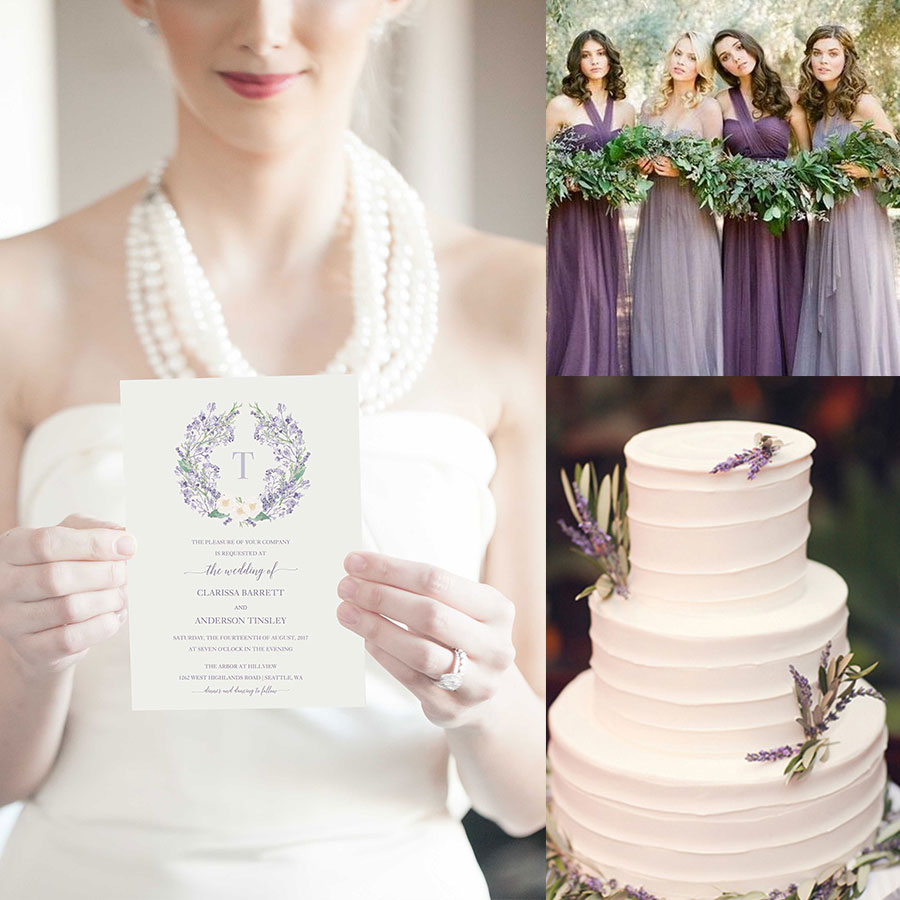 Romantic Lavender Wedding Ideas to Make You Swoon