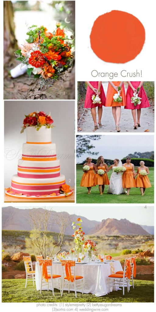 Orange Wedding Inspirations