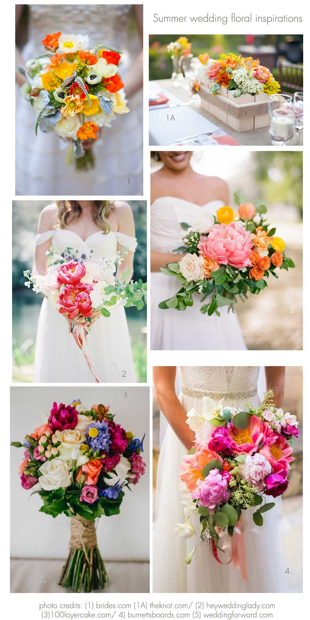 Summer wedding ideas and inspirations focus on fab for Wedding flowers ideas pictures