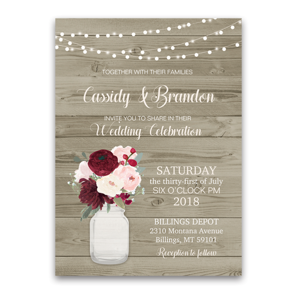 Wedding Invitations With Reception Information as Cool Sample To Make Unique Invitations Template