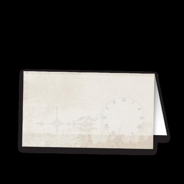 Steampunk Wedding Vintage Industrial Escort Card