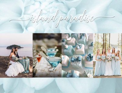 Island Paradise 2017 Wedding Idea Inspirations