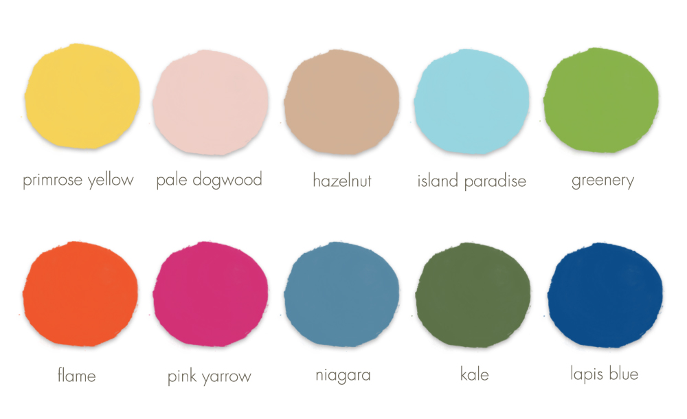 Spring Wedding Colors for Your 2017 Spring Wedding