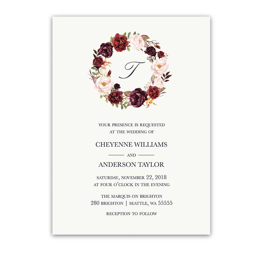rustic wedding invitation Archives Noted Occasions Unique and