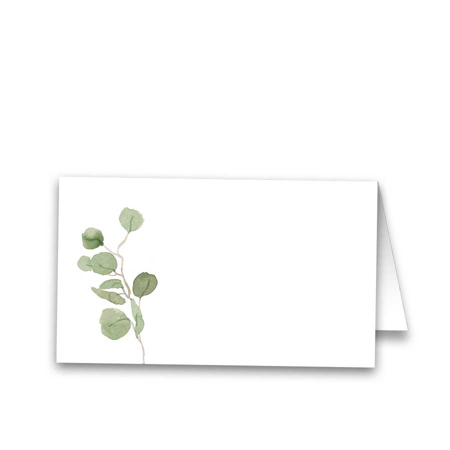 Greenery Eucalyptus Garland Wedding Seating Place Cards