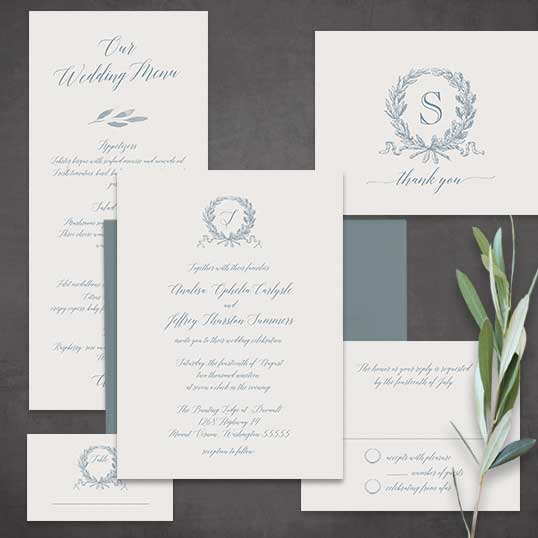 Handwritten Wedding Invitations Envelopes: Script Wedding Invitations Calligraphy Handwriting Color