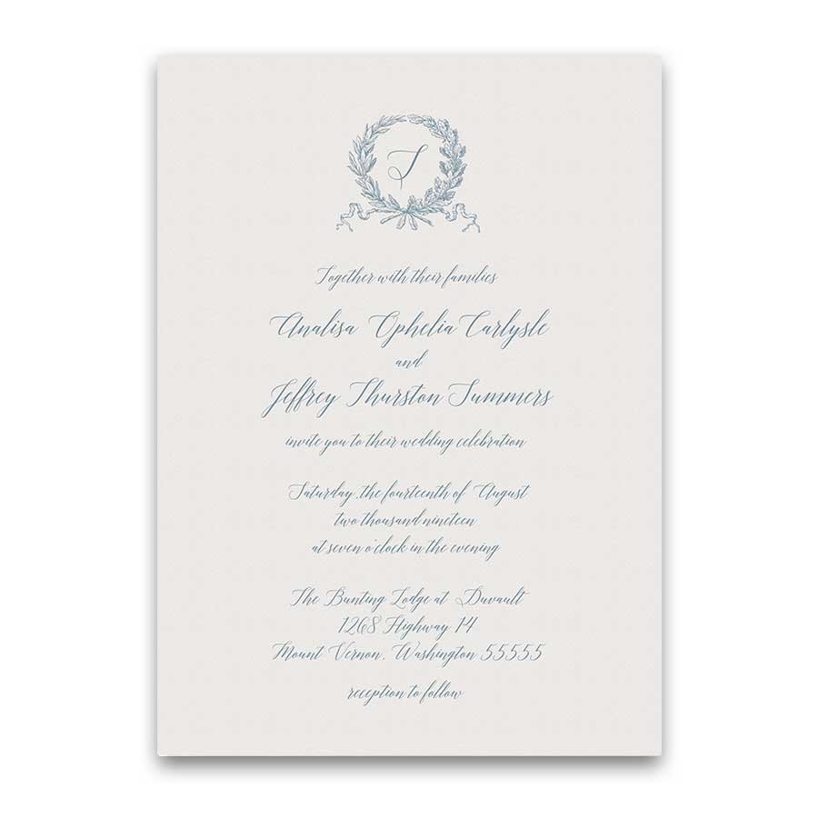 Script Wedding Invitations Calligraphy Handwriting