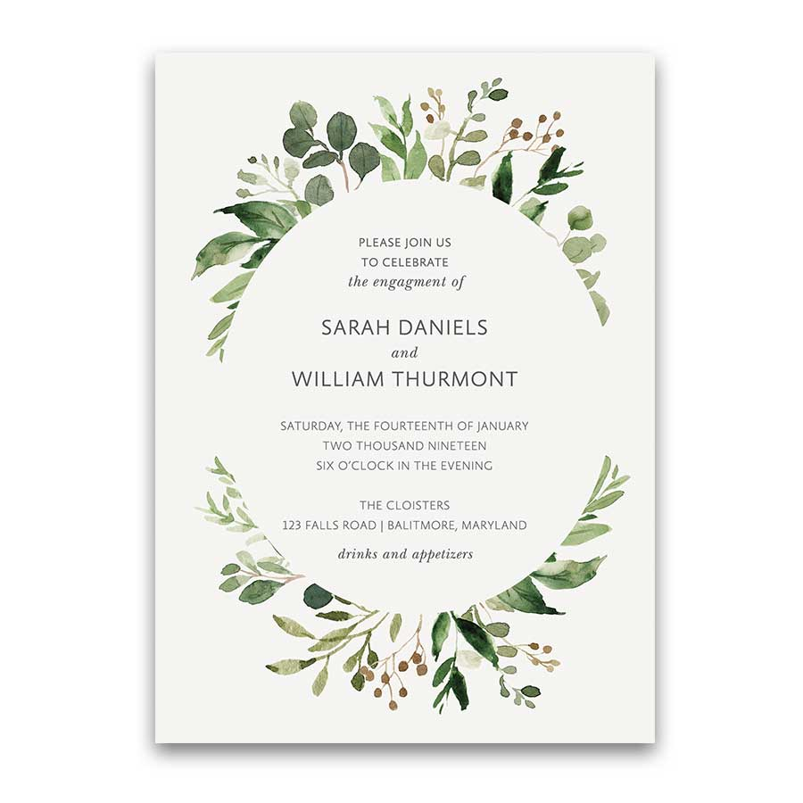 engagment party invites