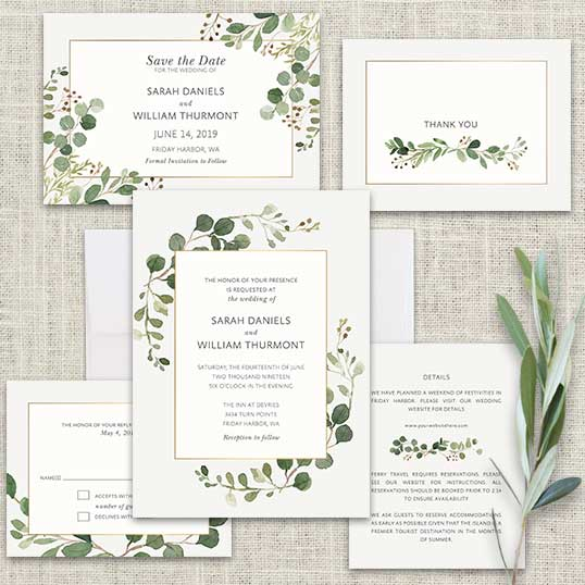 Wedding Greenery Inspiration Ideas