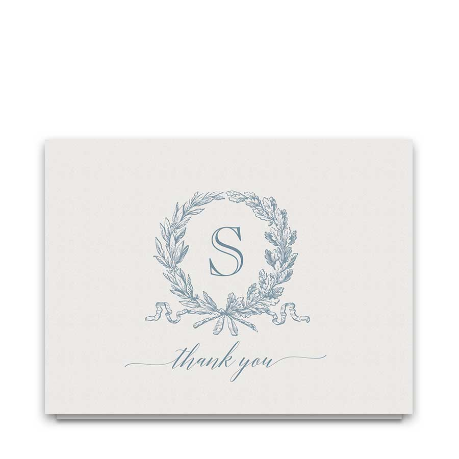 Script Wedding Thank You Cards Calligraphy Handwriting