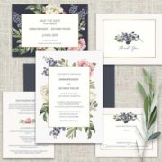 Floral Wedding Invitations 2018 Wedding Trends Collection