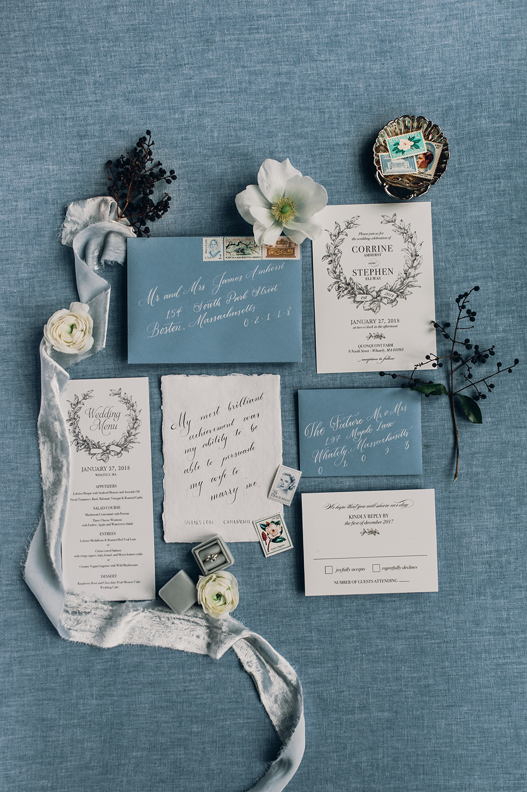 Dusty Blue Wedding Ideas Pale Blue Wedding Inspirations