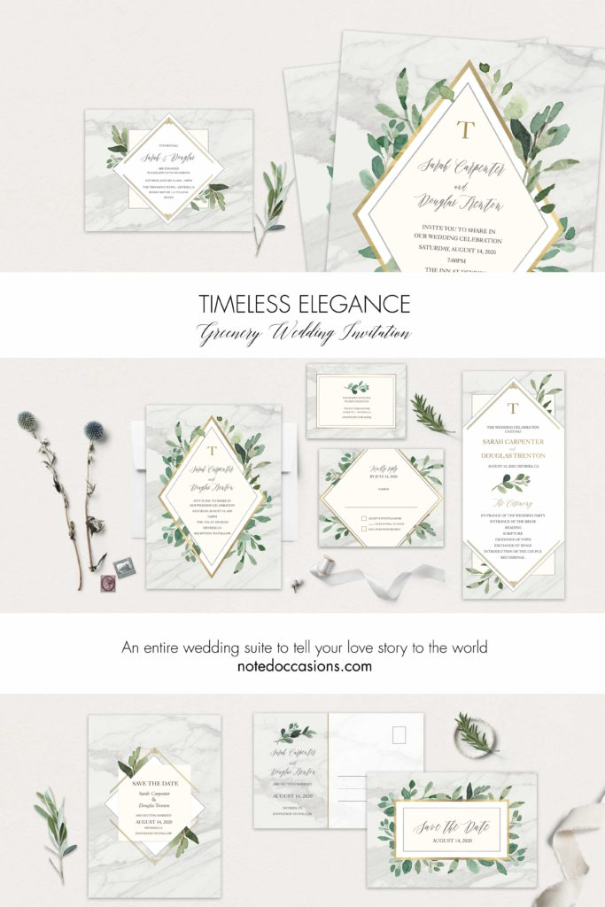 Greenery Wedding Ideas and Inspirations