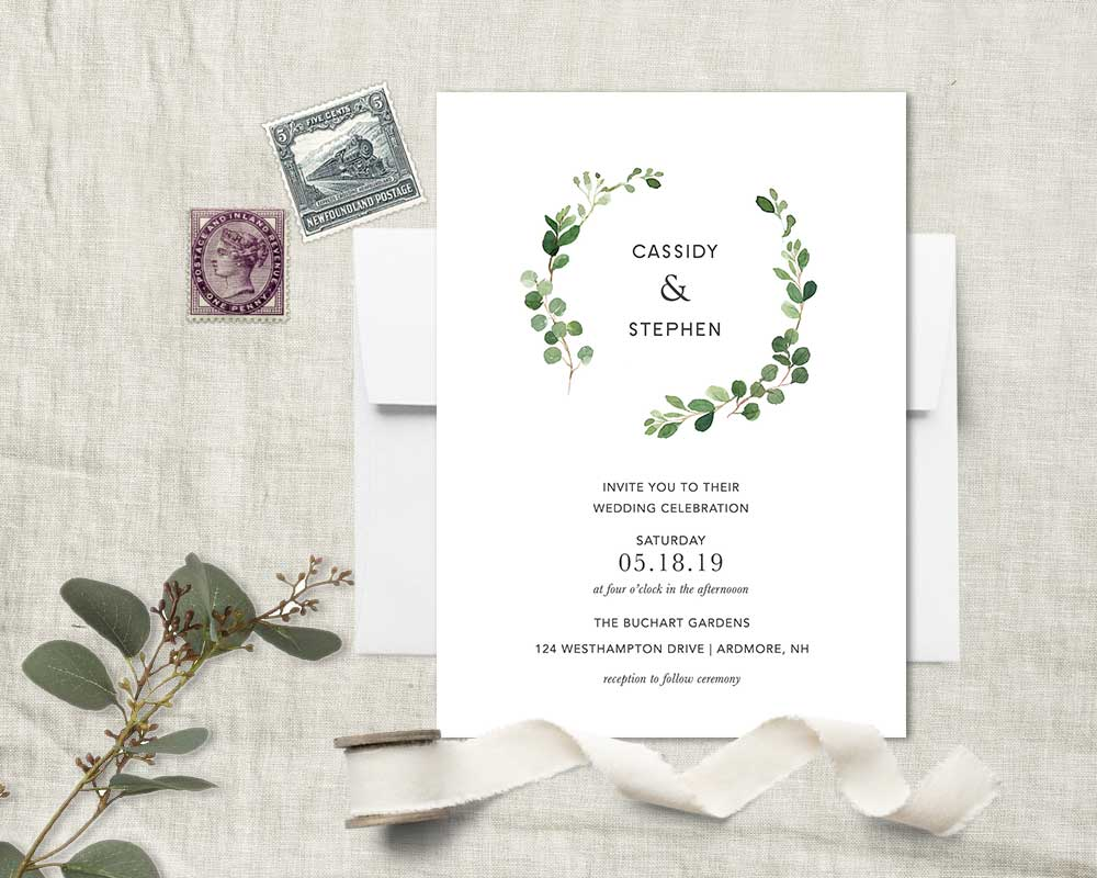 Greenery Wedding Ideas and Inspirations from Notedoccasions