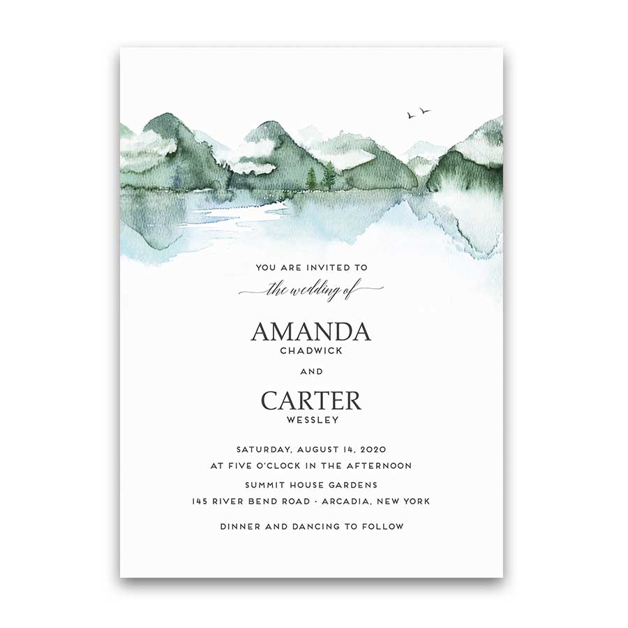 Create Invitation Template: Wedding Save The Date Cards Custom Design Templates