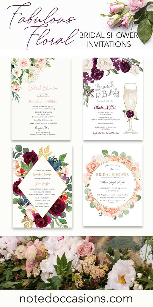 Bridal Shower Invitations Customized for Every Bride